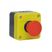 E-Stop - 22mm 1NC Emergency Stop Button with case