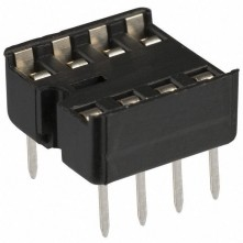 Support Puce IC 8 Contacts - IC Socket