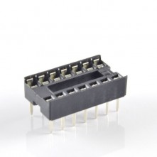 Support Puce IC 14 Contacts - IC Socket