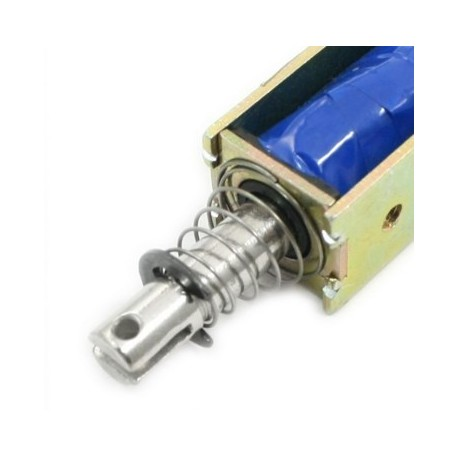 """Solenoïde """"Push-Pull"""" 12 Volts - 1A - Bras 10 mm"""