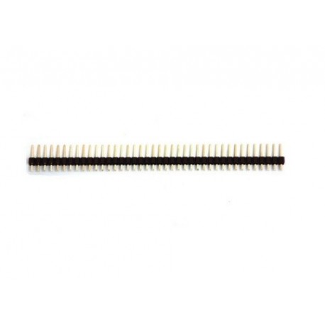 Barrette 40 broches Simples Droites - 2,54mm - Header Pins
