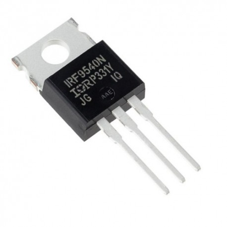 Transistor IRF9540 - MOSFET Puissance Type P -100V -23A
