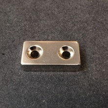 Aimant Permanent Extra Puissant au Neodyme N52 - 40 x 20 x 10 mm