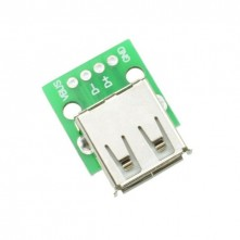 Adaptateur USB-A 4 Pins - Breakout Board USB-A