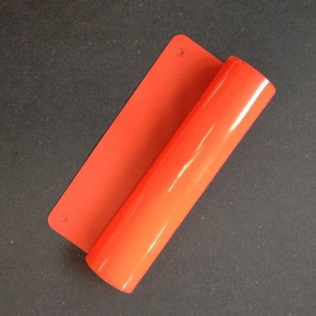 Mat Silicone 365 x 220 x 1 mm - Rouge