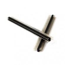 Barrette 40 broches Doubles Droites - 2,54mm - Header Pins