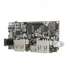 Board Chargeur 18650 USB - 1A + 2.1A