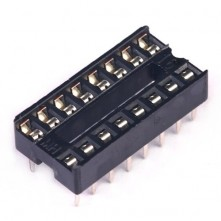 Support Puce IC 16 Contacts - IC Socket