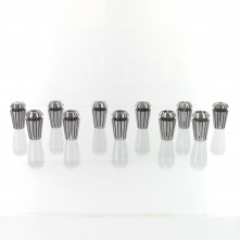 Kit of 11 collet chucks for CNC Spindle - ER16 - ø 1 - 10 mm