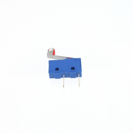 Micro Switch Roller 5A - NO - 250V - Connecteurs Fast-On 2.8mm