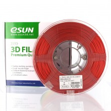 Filament 3D ABS+ 1,75mm - Rouge - eSun ABS+ Optimisé