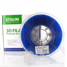 Filament 3D PLA 1,75mm - Bleu Transparent - eSun PLA