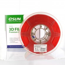 Filament 3D PLA+ 1,75mm - Rouge - eSun PLA Optimisé
